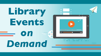 Library events on demand